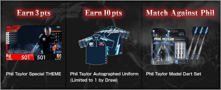 PHIL TAYLOR IN GLOBAL MATCH