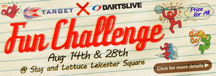 Target × DARTSLIVE Fun Challenge
