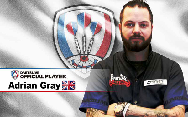 DARTSLIVE OFFICIAL PLAYER Adrian Gray