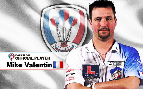 DARTSLIVE OFFICIAL PLAYER Michaël Valentin