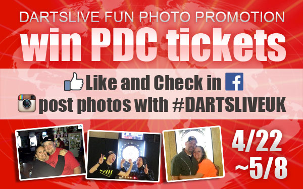 DARTSLIVE FUN PHOTO PROMOTION