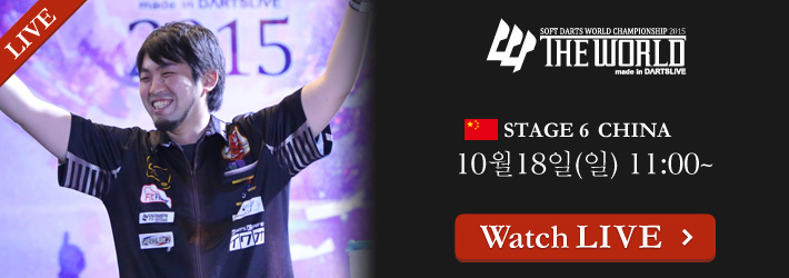 THE WORLD 2015 STAGE 6 CHINA