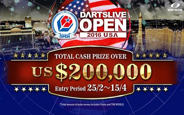 DARTSLIVE OPEN 2016 USA
