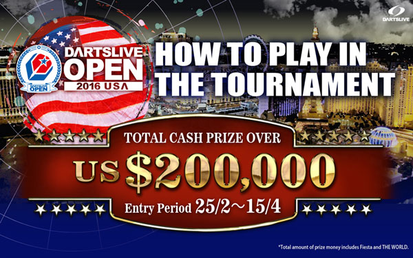 DARTSLIVE OPEN 2016 USA