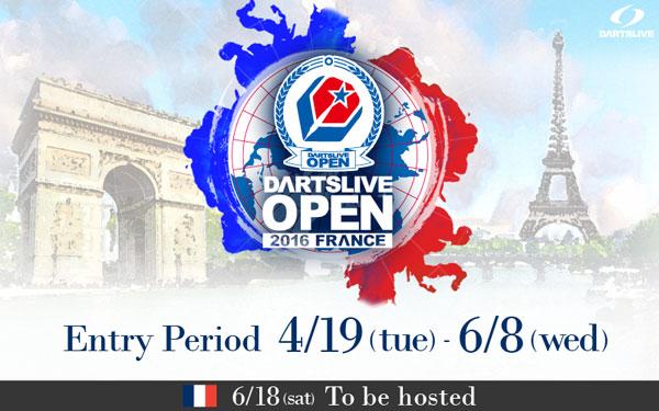 DARTSLIVE OPEN 2016 FRANCE