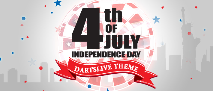 DARTSLIVE HOLIDAY CAMPAIGN SERIES: Independence Day