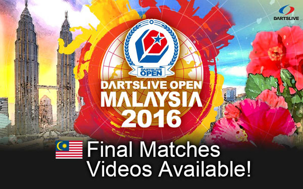 DARTSLIVE OPEN 2016 MALAYSIA