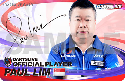 Paul Lim DARTSLIVE CARD