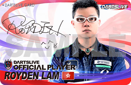 Royden Lam DARTSLIVE CARD