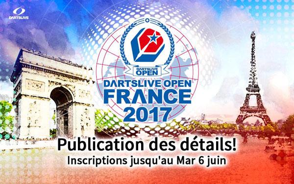 DARTSLIVE OPEN 2017 FRANCE