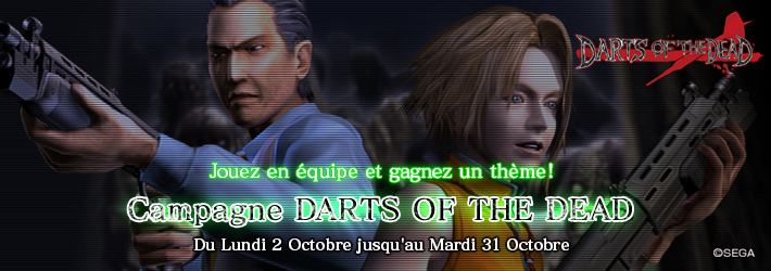 DARTS OF THE DEAD