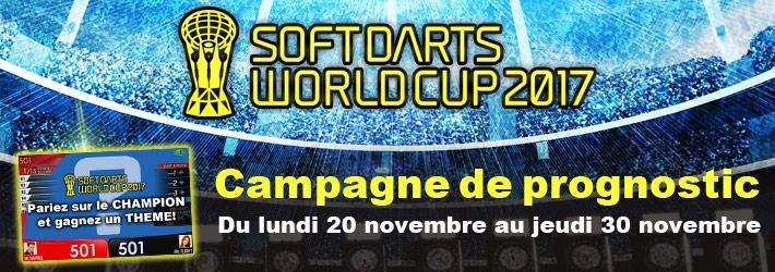 SOFT DARTS WORLD CUP 2017