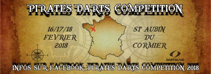DARTSLIVE OPEN des Pirates
