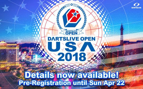 DARTSLIVE OPEN 2018 USA