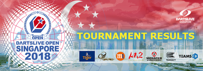 DARTSLIVE OPEN 2018 SINGAPORE Results