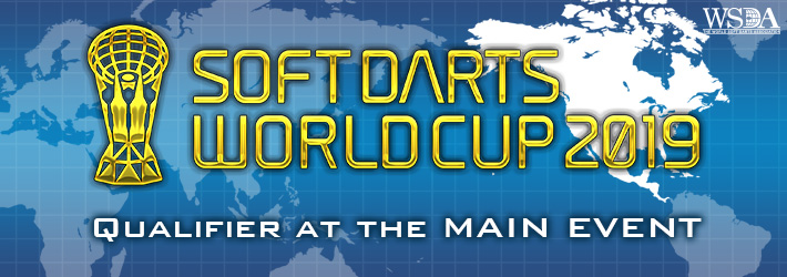 SOFT DARTS WORLD CUP 2019 Qualifier