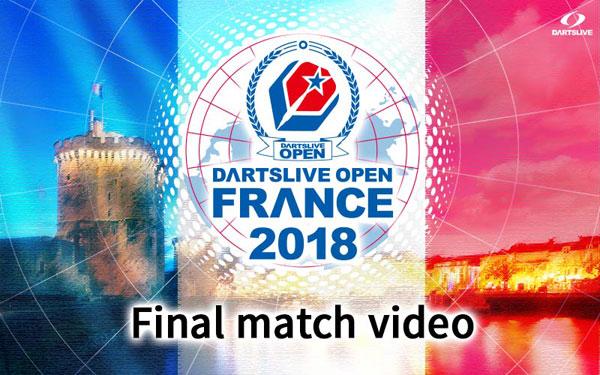 DARTSLIVE OPEN 2018 FRANCE