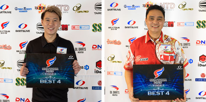 BEST 4 TERRY TAN JH (MALAYSIA), RONALD BRIONES (PHILIPPINES)