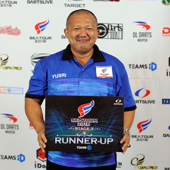 RUNNER-UP MOHD YUSRI (MALAYSIA)