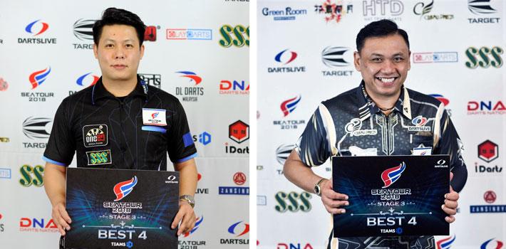BEST 4 WILSON SIM KC (MALAYSIA), HARITH LIM (SINGAPORE)