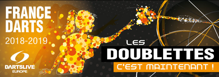 Inscriptions championnat équipes France Darts