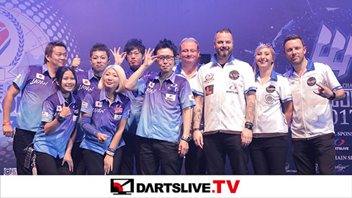 Now Showing - Great matches of SOFT DARTS WORLD CUP on【DARTSLIVE.TV】