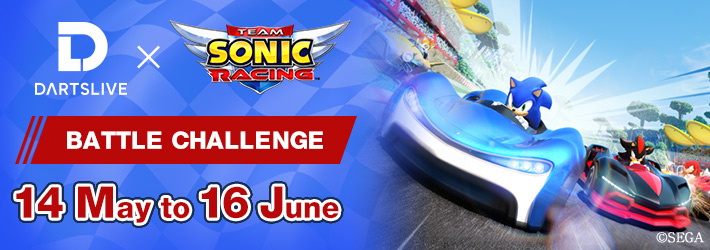 Play 『Team Sonic Racing』 BATTLE CHALLENGE and get THEMEs (Starting 14 May)