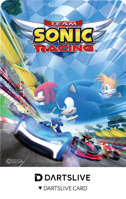 『Team Sonic Racing』DARTSLIVE Card