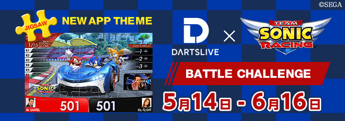 快來玩『Team Sonic Racing』 BATTLE CHALLENGE,獲取限定THEME!(~6月16日止)