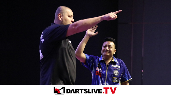 為您播放THE WORLD 2019 FEATURED MATCH 1精彩賽事【DARTSLIVE.TV】