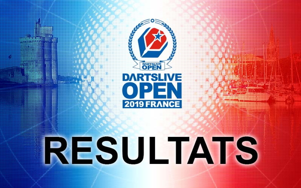 【DARTSLIVE OPEN 2019 FRANCE】Résultats et photos