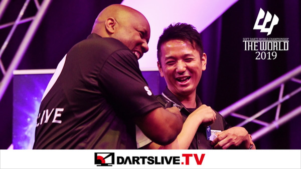 Disponible dès maintenant !  THE WORLD 2019 FEATURED MATCH 2【DARTSLIVE.TV】