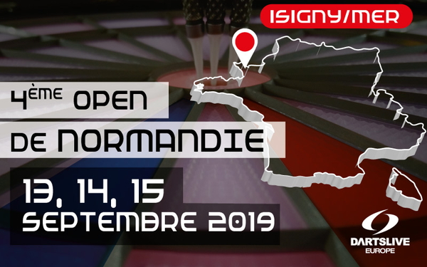 【OPEN DE NORMANDIE】Du 13 au 15 Septembre