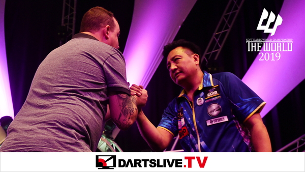 為您播放THE WORLD 2019 FEATURED MATCH 3精彩賽事【DARTSLIVE.TV】
