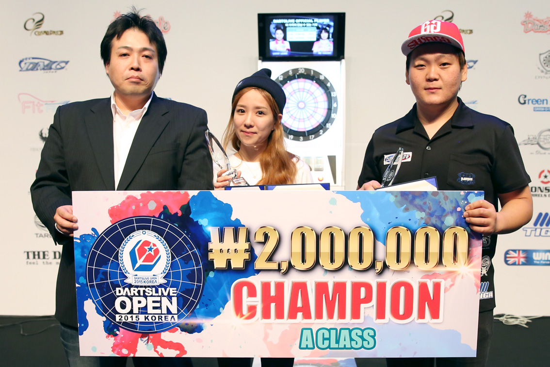 DARTSLIVE_OPEN_KOREA_2015_AClass_CHAMPION