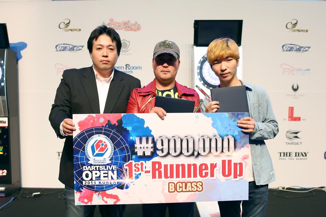 DARTSLIVE_OPEN_KOREA_2015_BClass_1stRunnerUp