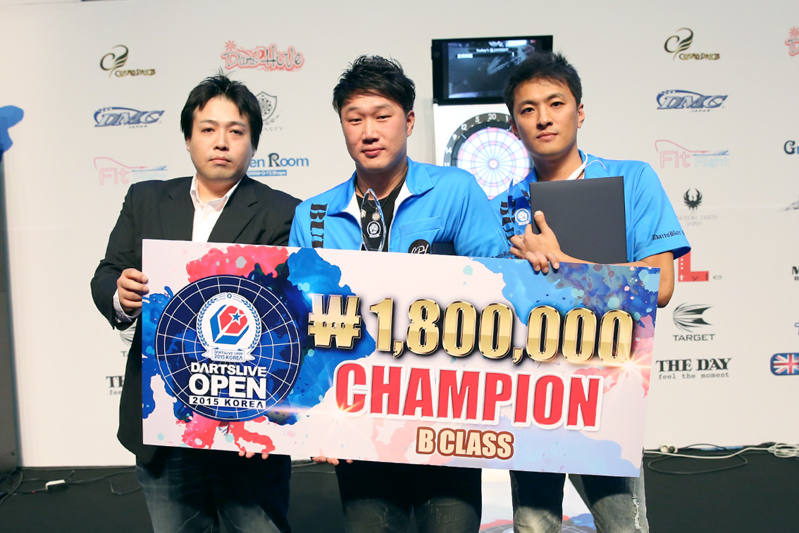 DARTSLIVE_OPEN_KOREA_2015_BClass_CHAMPION