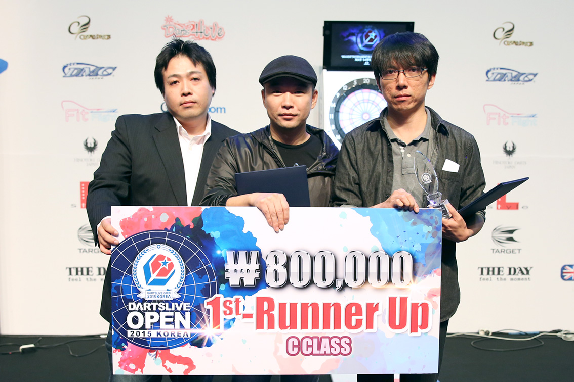 DARTSLIVE_OPEN_KOREA_2015_CClass_1stRunnerUp