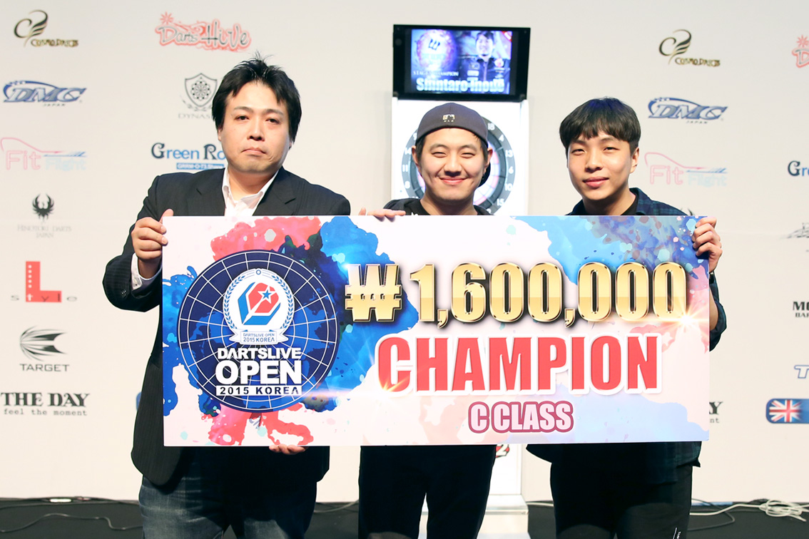 DARTSLIVE_OPEN_KOREA_2015_CClass_CHAMPION