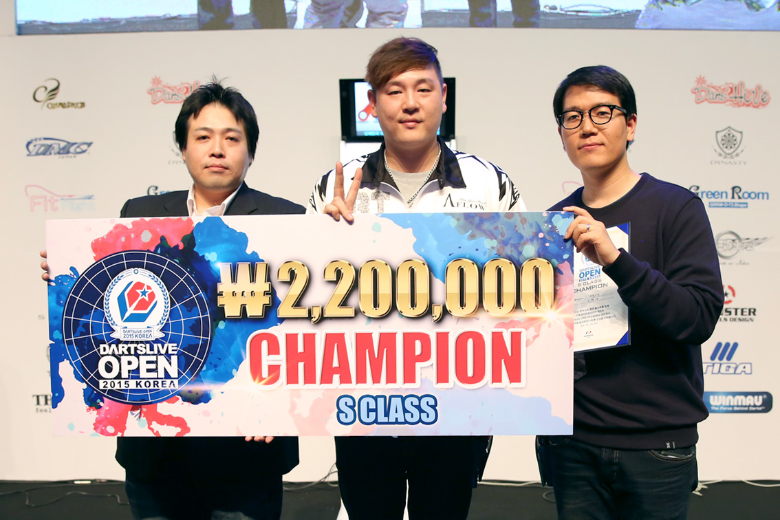 DARTSLIVE_OPEN_KOREA_2015_SClass_CHAMPION