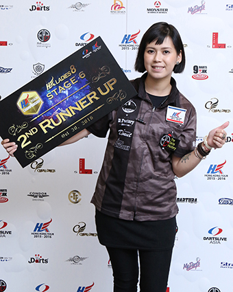 HONG KONG LADIES 8 STAGE 6 季軍得主:KAMAN CHEUNG