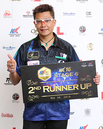 HONG KONG 16 STAGE 6季軍得主:ROYDEN LAM