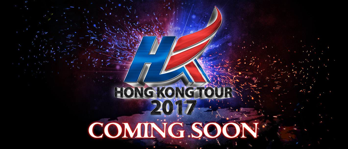 HONG KONG TOUR 2017 COMING SOON
