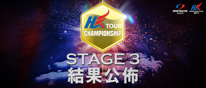HONG KONG TOUR CHAMPIONSHIP 2017 STAGE 3 Result