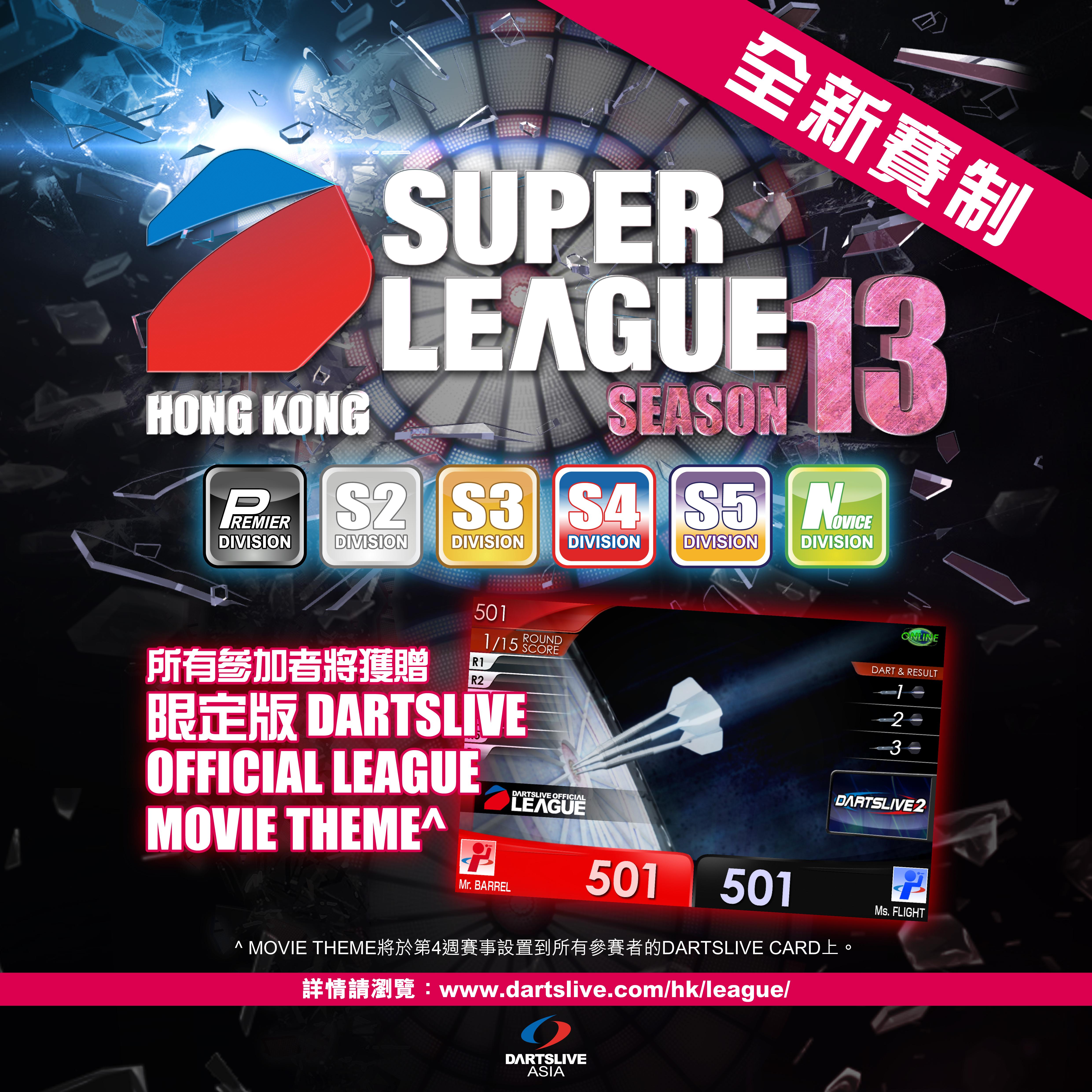 SUPER LEAUGE SEASON 13 Theme News