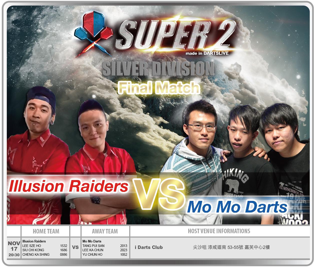 SUPER 2決賽 賽程公告