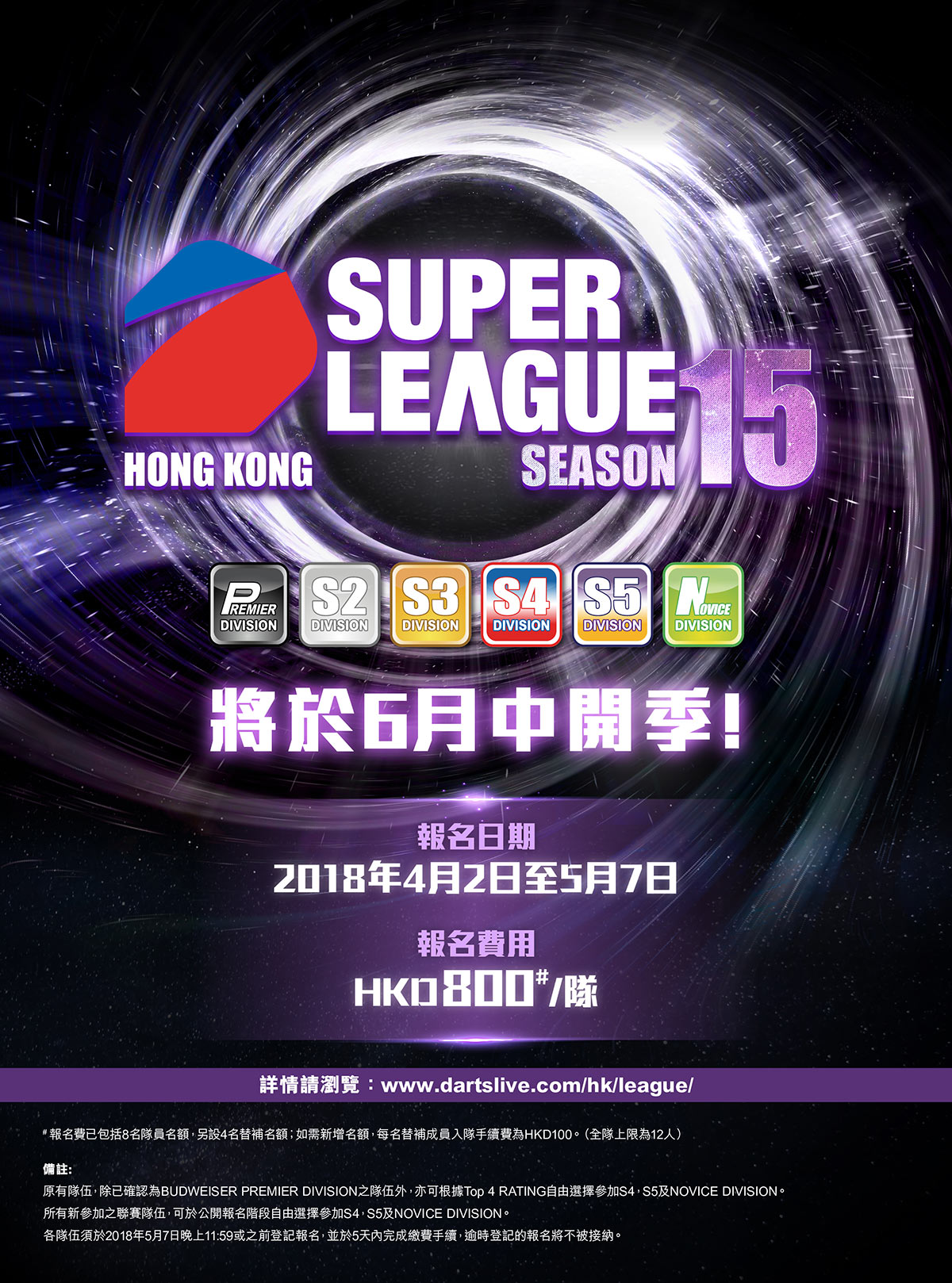SUPER LEAUGE SEASON 14 POSTER