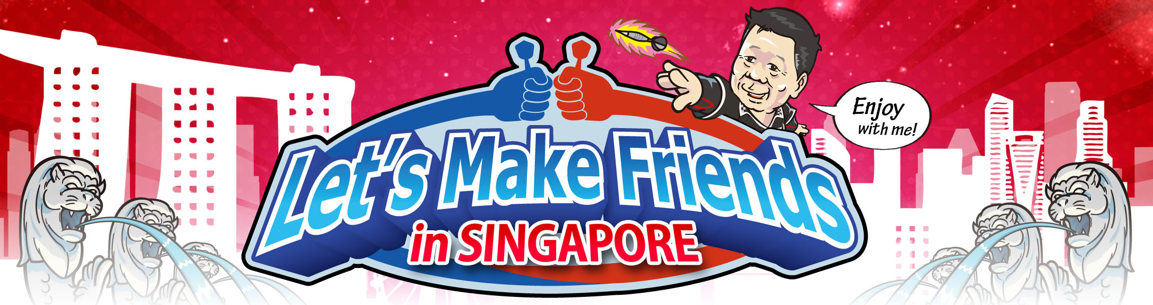 Celebrating SG50 by Lets Make Friends!