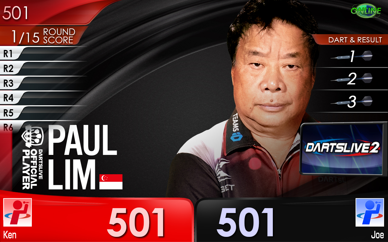 Paul Lim DARTSLIVE THEME