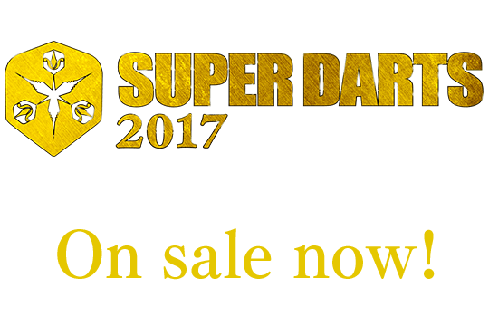 Make a HERO SUPER DARTS 2017 Complete edition VOD On sale now!